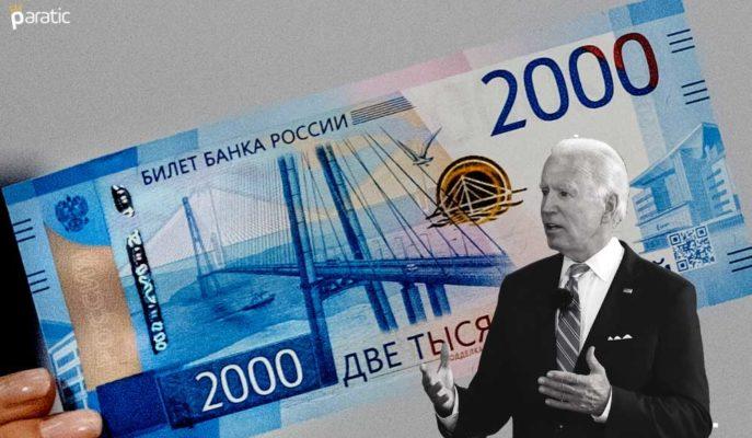 Ruble Rusya Merkez Bankası Kararıyla Dolar Tarafında 1 Ayın Yükseğine Çıktı