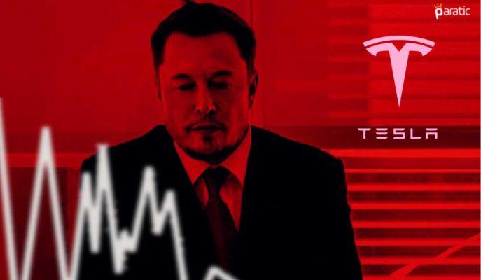 Tesla Hisseleri Rekor 1Ç21 Kârına Rağmen Ekside