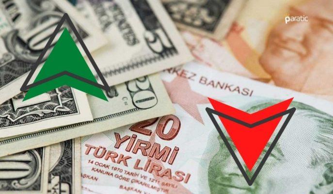 Türk Lirası Bu Sabah Dolar Karşısında En Çok Değer Kaybeden Oldu
