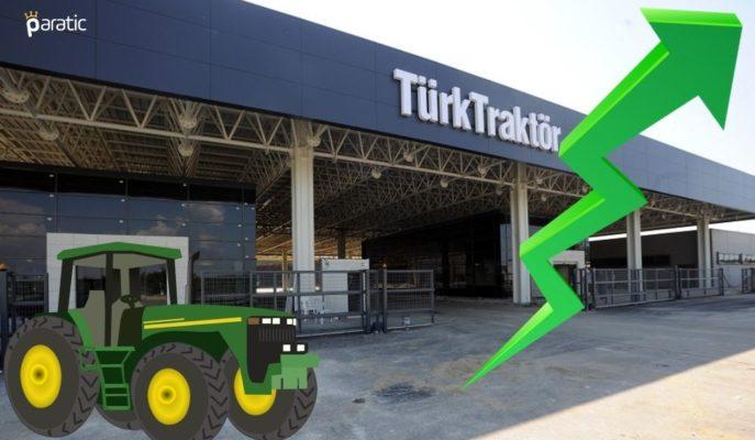 Türk Traktör Hisseleri Yükselişini Sürdürürken, Günlük Kazancı %4'ü Aştı