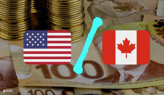 USD/CAD Ticaret Verileri Sonrasında Nisan Ayının Zirvesini Gördü