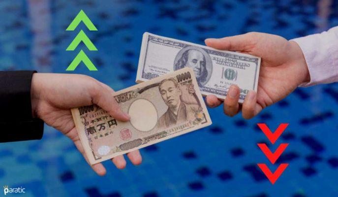 USD/JPY'de Gerileme Sürüyor! Parite 6 Haftanın En Düşüğünü Gördü