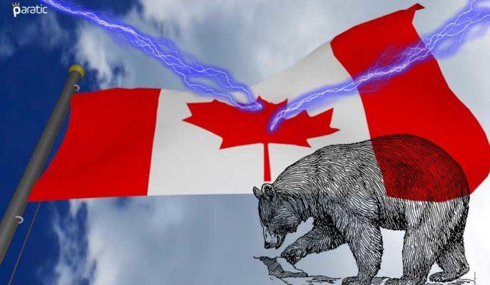 Satış Bakısındaki Kanada Hisseleri 1 Haftanın Düşüğüne Geriledi