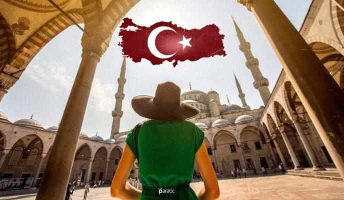 Türkiye'ye Gelen Yabancı Sayısı Nisan'da %3162 Arttı