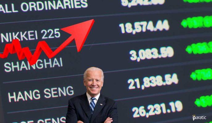 Asya Piyasaları ABD'nin Olumsuz Yönde Sürpriz Yapan Verileriyle Yükseldi