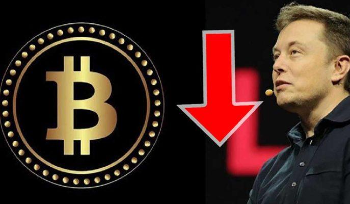 Bitcoin, Elon Musk Etkisiyle Şubat Ayından Bu Yana Tüm Kazançlarını Sildi