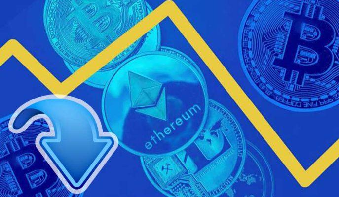 Bitcoin ve Ethereum %5'ten Fazla Düşerek Sert Bir Düzeltme Yaşadı