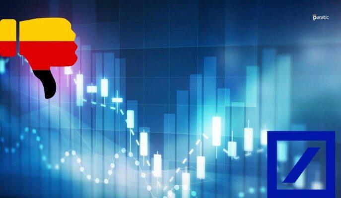 DAX Endeksinde Düşüş Sürerken, En Çok Deutsche Bank Hisseleri Geriledi