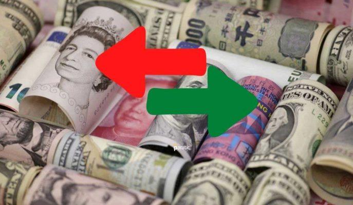 Dolar ve Euro Sakin, Sterlin Rekorun Hemen Altında Seyrediyor