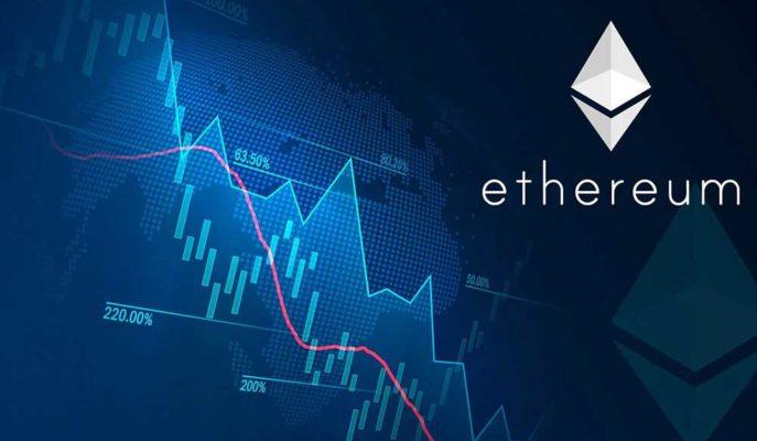 Ethereum Düşüşü ile Haftalık Kayıplarını %40'a Çıkardı