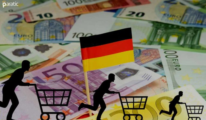 Euro Almanya'nın Rekor Perakende Satışlarından Destek Alamadı