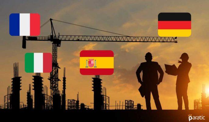 Euro Bölgesi İnşaat PMI Nisan'da 50,1'le Değişmedi