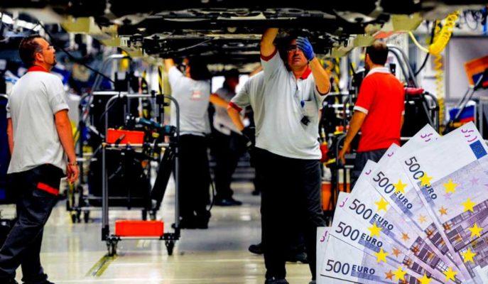 Euro Bölgesi'nde Üretici Fiyatları Mart'ta Aylık %1,1 Arttı