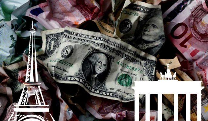 Euro Zayıflayan Dolar Karşısında 10 Haftanın Yükseğini Gördü
