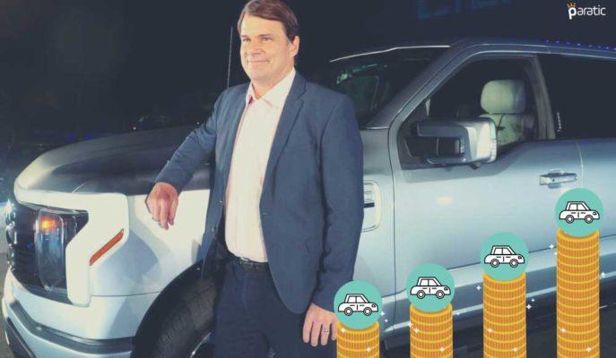 Ford Elektrikli Araç Harcamalarını Artırdı! Hisseler 5 Yılın Yükseğinde