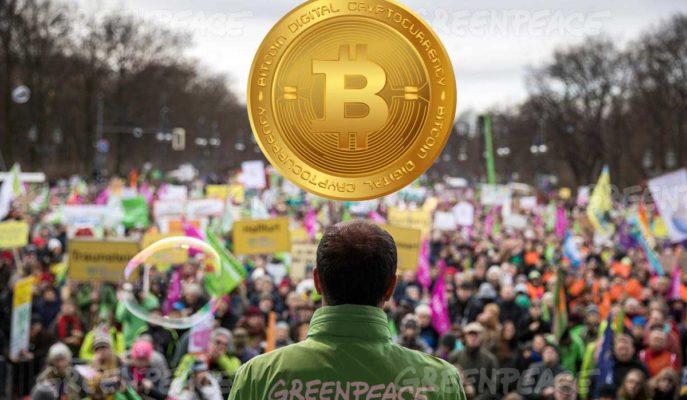 Greenpeace Çevresel Çekinceler Nedeniyle Bitcoin ile Bağış Almayı Bırakıyor