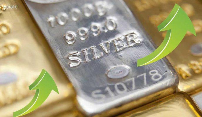 Gümüşün Ons Fiyatı %1 Artışla 28 Dolara Dayandı