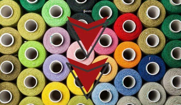 Günün İkinci Yarısı En Fazla Azalan Sektör Endeksi Tekstil Oldu