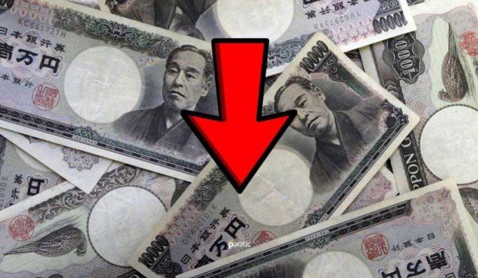 Japon Yeni 7,71 ile Günün En Düşük Seviyesinden İşlem Görüyor