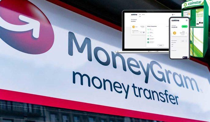 MoneyGram Fiziksel Kripto Hizmeti Sunmak için Coinme Borsası ile İş Birliği Yaptı