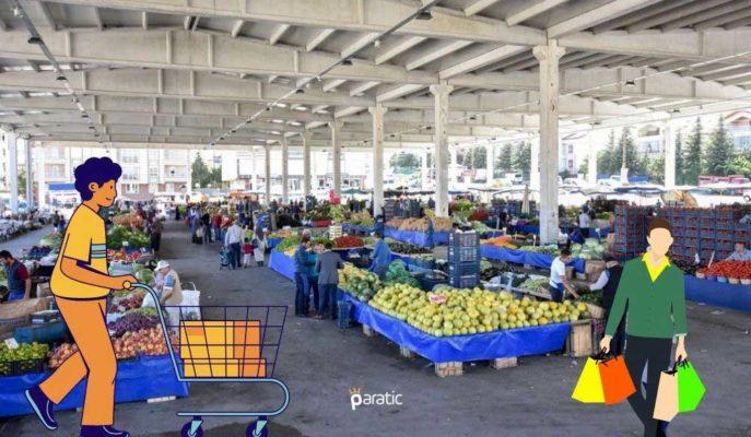 Enflasyon Nisan'da Yıllık Bazda %17,14 Artış Gösterdi