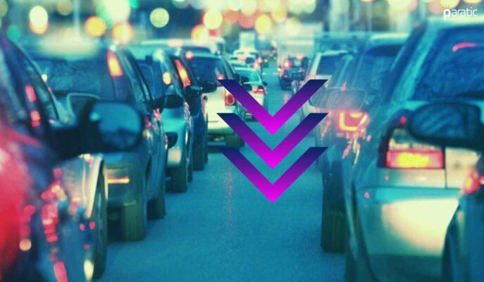Nisan'da Trafikteki Taşıt Sayısı %21,4 Azaldı