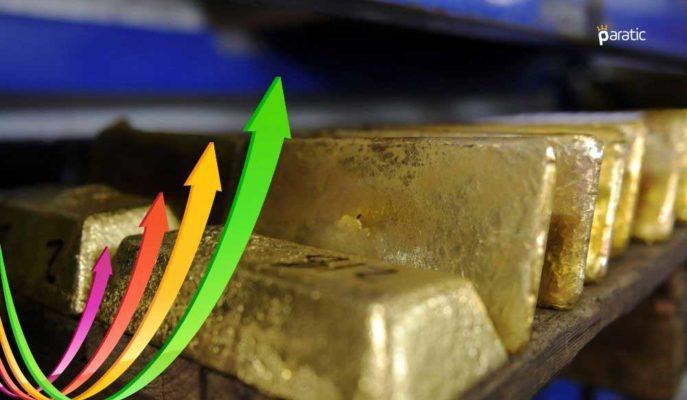 Ons Altın 1822 Dolarla 11 Haftanın En Yükseğine Çıktı
