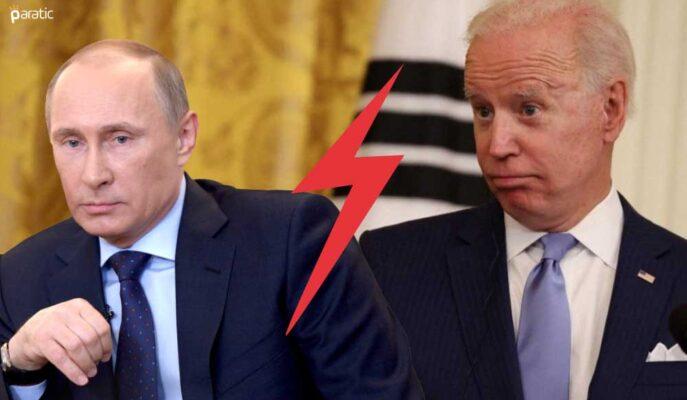 Rusya-ABD Gerilimi Artarken USD/RUB 2,5 Ayın Düşüğüne Geriledi