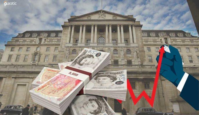 Sterlin İngiltere Merkez Bankası Sonrası 1 Haftanın Yükseğine Dokundu