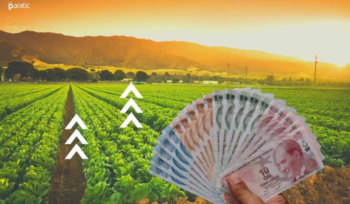Tarım-ÜFE Nisan'da Aylık Bazda Yüzde 0,79 Azaldı