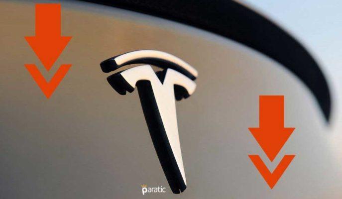 Tesla Hisseleri Piyasa Öncesi İşlemlerde %7'ye Yakın Geriledi