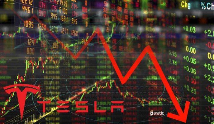 Tesla Hisseleri Pozitif Kapanışın Ardından, %3 Değer Kaybetti