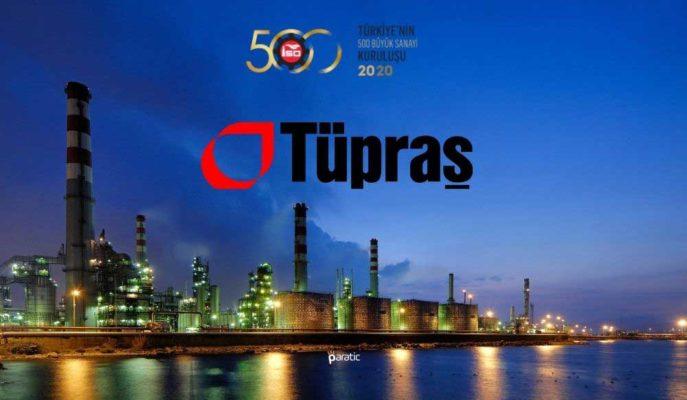Tüpraş, İSO 500 Liderliğini Korurken Hisseleri Sakin Bir Gün Geçiriyor