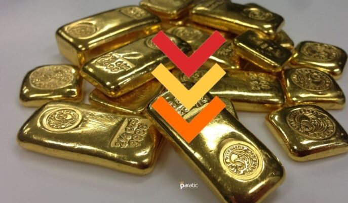 1761 Dolarda Seyreden Ons Altın Bu Ay %8 Geriledi