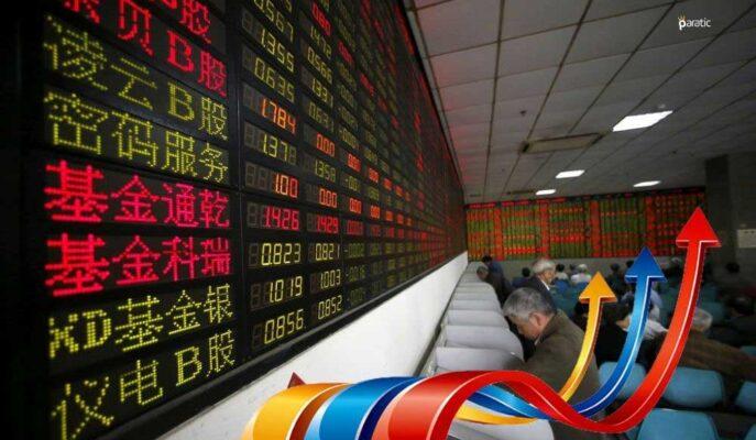 Asya Piyasaları Veri Yoğunluğu Olmayan Günde Yükseliş Gösterdi