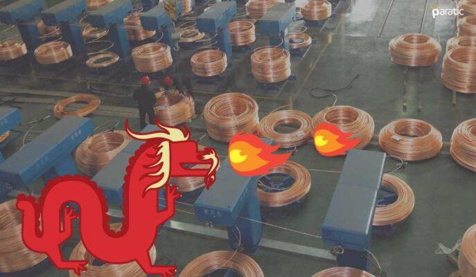 Bakır Çin'in Fiyat Kontrolü Hamlesiyle Düşse de Yıllık %70 Artıda Duruyor