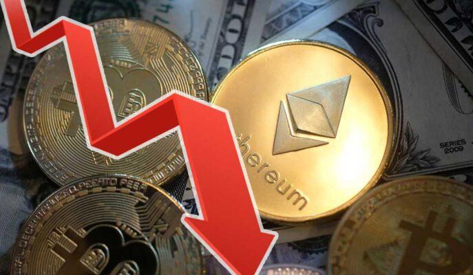 Bitcoin 34 Bin Dolara Kadar Düşerken Ethereum Gerilemeye Devam Ediyor