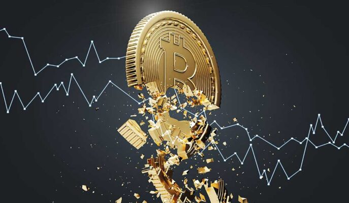 Bitcoin Arzı %44.5 ile Son Beş Ayın En Düşüğünü Gördü