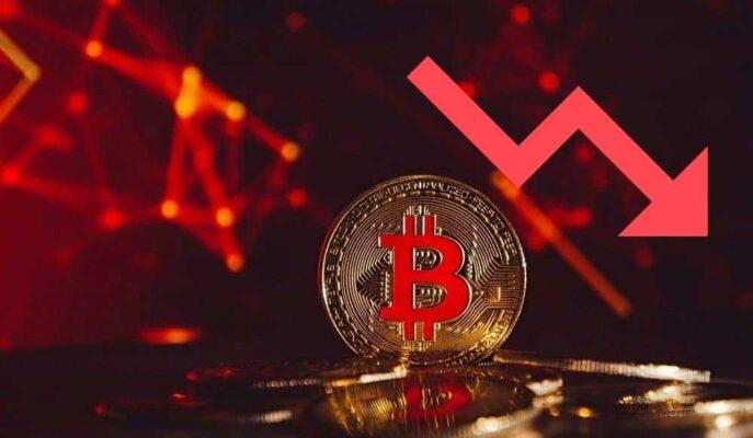 Bitcoin Düşüş Trendinin Altında 33 Bin Dolar Seviyesinde Kaldı