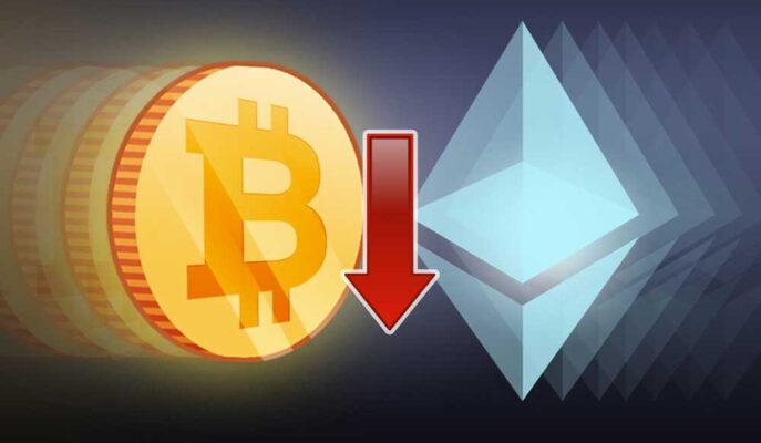 Bitcoin ve Ethereum'un Aktif Ağ Adresleri Düşüşünü Sürdürüyor