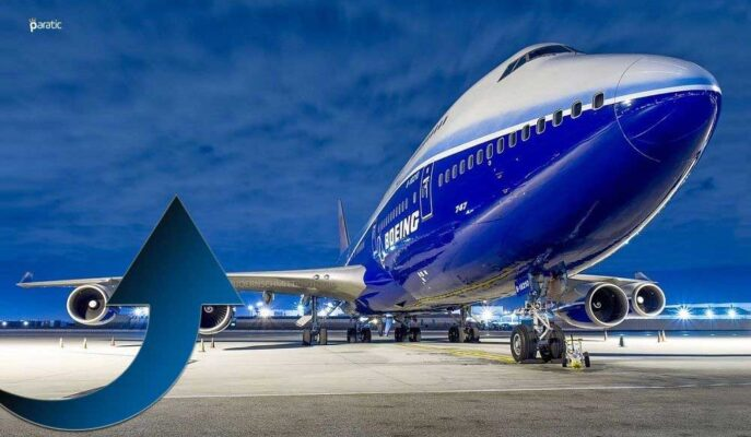 Boeing Hisseleri Açılış Öncesi Dow Jones'un En Fazla Artanı Oldu