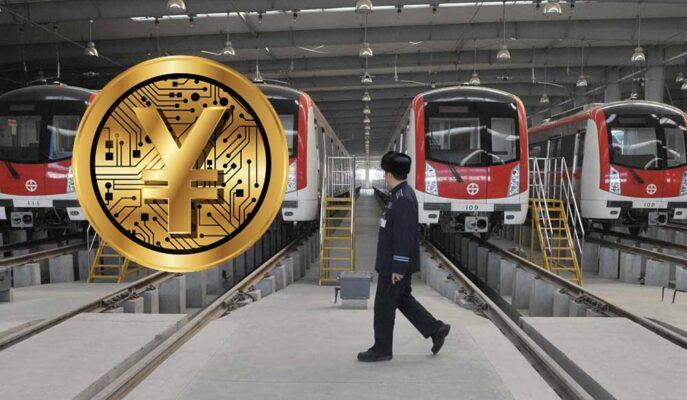 Çin Merkez Bankası CDC Testini Pekin Metrosuna Taşıyor