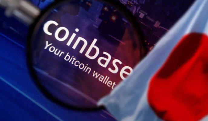 Coinbase Borsası Japonya'da Hizmet Vermeye Başlıyor