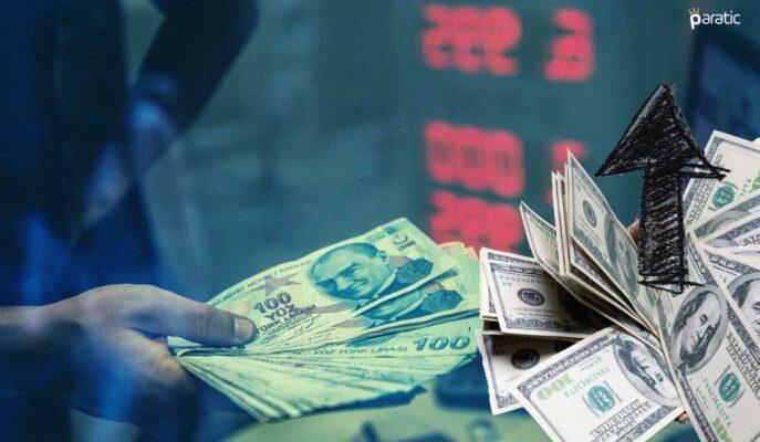 Dolar TCMB'nin Yine Sabit Tuttuğu Faiz Kararı Sonrası Değişmedi