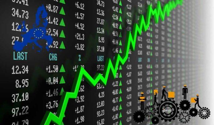 Euro Stoxx 50 Sanayi Üretimindeki %39,3'lük Artışla Yıllık Zirveyi Gördü