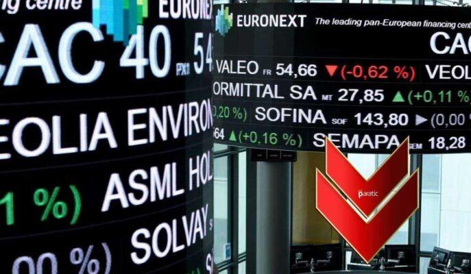 Fransa Hizmet PMI Sonrası Rekora Yaklaşan CAC 40 Düşüşe Geçti
