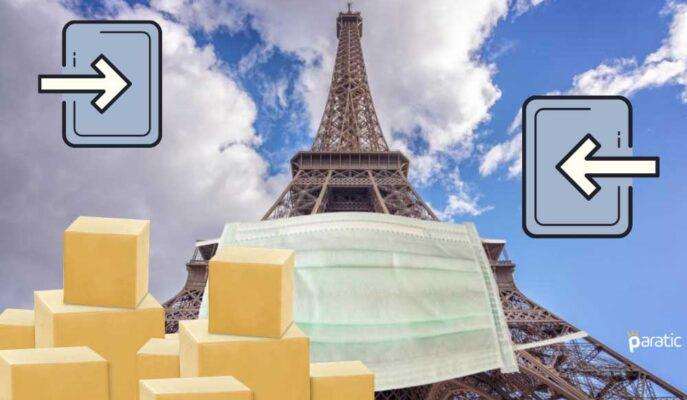 Fransa'nın Ticaret Açığı Nisan'da 6,2 Milyar Euro Oldu