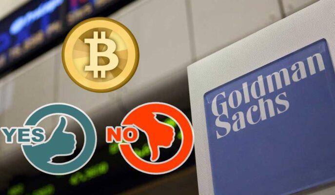 Goldman Sachs Analistleri Bitcoin'in Varlık Sınıfı Olduğu Konusunda Bölündü