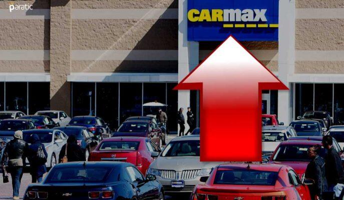 İkinci El Araba Perakendecisi CarMax Hisseleri %6,5 Yükseldi