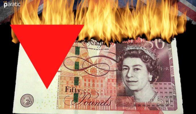 İngiltere Ekonomisi %1,6 Küçülürken GBP/USD Üzerindeki Baskı Artıyor